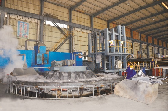 Lead Anode Casting Mold Machine Unit